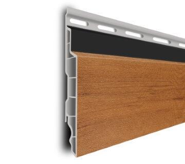 Decotrim PVC gevelplanken - PVC gevelbekleding is onderhoudsarm en kleurvast.