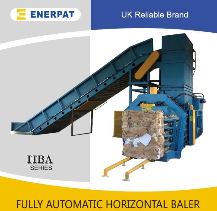 ENERPAT Waste paper baling press compactor machine