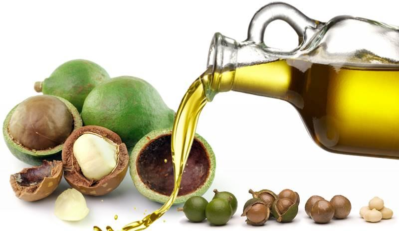 Organic Macadamia Oil - cold pressed, virgin - MACADAMIA INTEGRIFOLIA SEED OIL