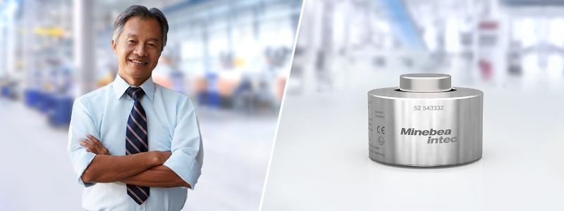Kompakt-Drucklast-Wägezelle PR 6212 - Wägezellen
