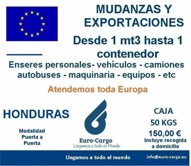Mudanzas a Honduras - Desde España