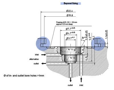 Miniature valve, monostable - 19.00x.287 mono