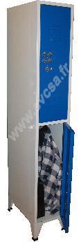 Multicasiers 2 cases sur la hauteur  - Réf. A1/2 ou B1/2