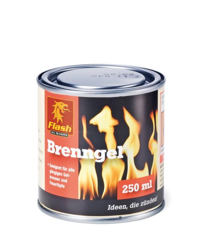 FLASH Brenngel 250 ml Dose - null