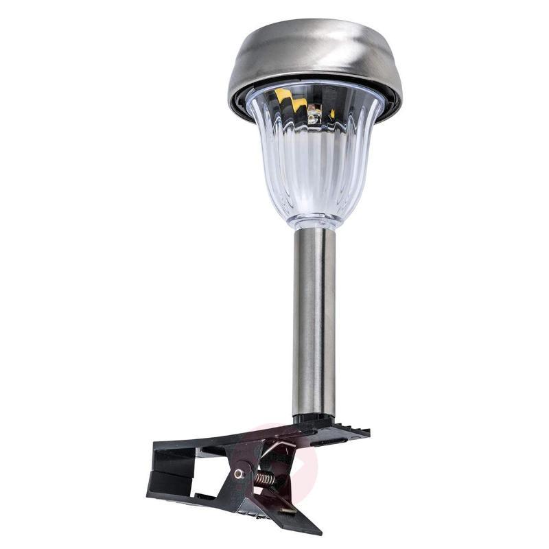 Alessio set of three solar clip-on lights - Solar Lights