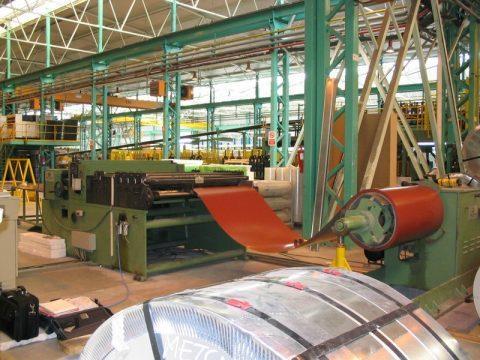 Linee di taglio Compatte - Impianti per lattoneria