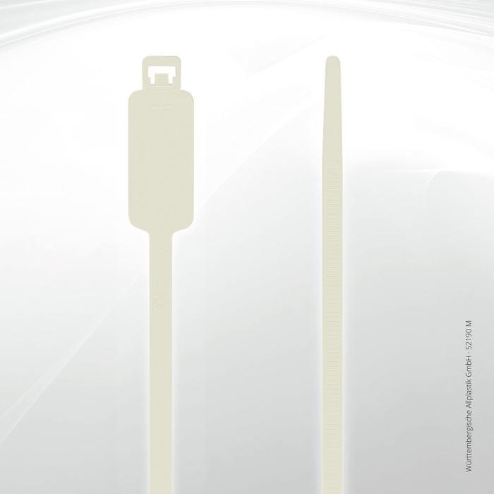 Label identification ties Allplastik Kabelbinder® - 52190-M (natural)
