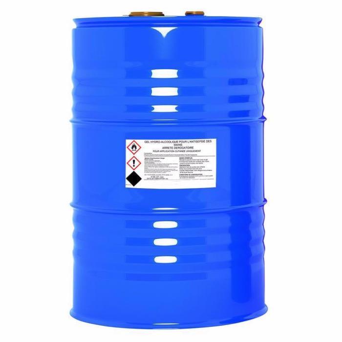 Fût 200L gel hydroalcoolique  -
