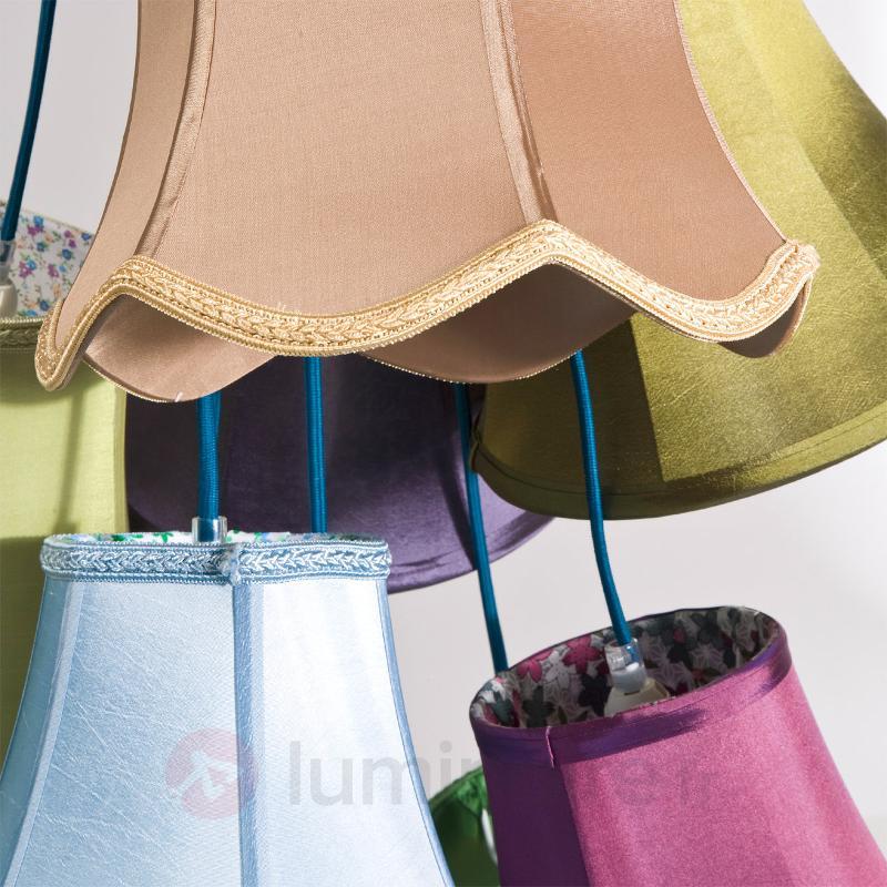 Suspension multicolore Saloon Flower - Suspensions design