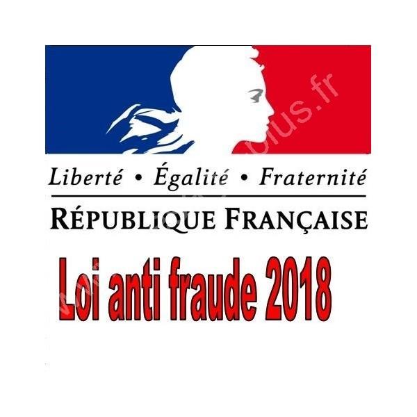Loi anti fraude 2018 - Caisses enregistreuses