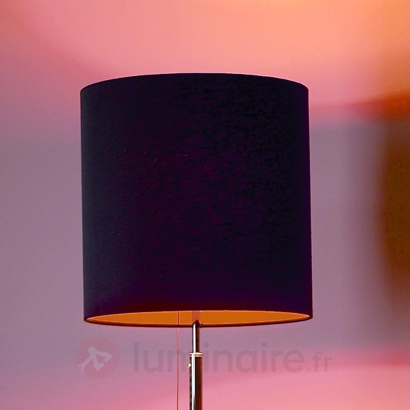 Lampadaire anthracite-orange - Lampadaires design