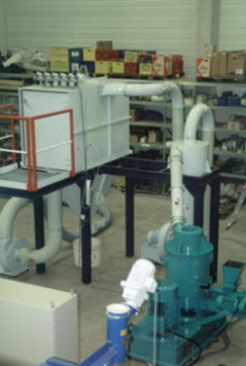 Mahltrocknungsanlage TurboRotor (G-55) - Mahlanlage TurboRotor des Bautyps G-55
