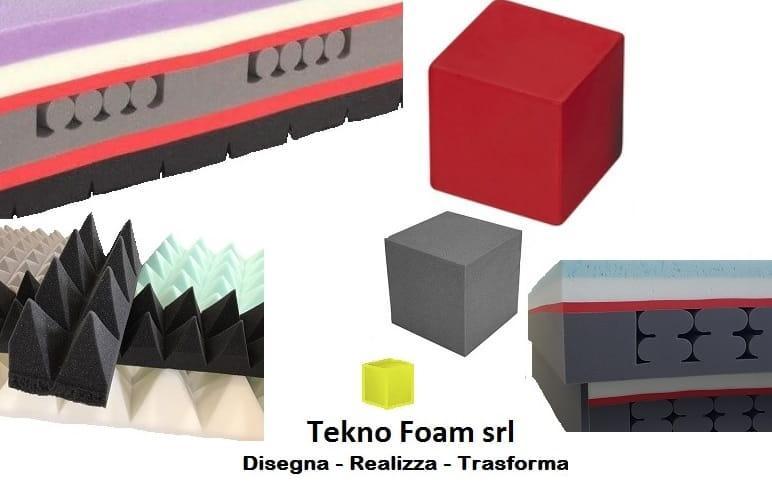 TAGLIO/SAGOMATURA - Servizi di taglio e sagomatura blocchi o lastre di poliuretano/spugna