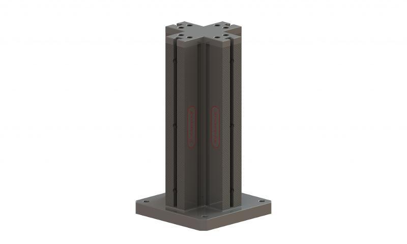 Spannturm, Schienenlänge 500 mm - null