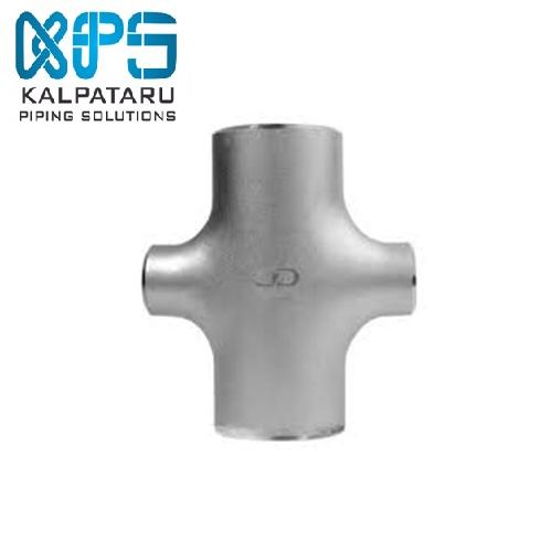 Stainless Steel 904L Reducing Cross Tee - Stainless Steel 904L Reducing Cross Tee