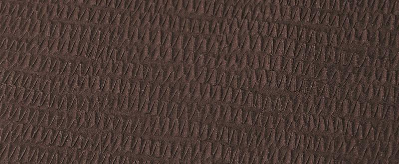 Soft-Touch Synthetic leather at its most beautiful - Twister Prisma choco