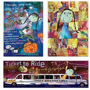Invites - Party invitations for children