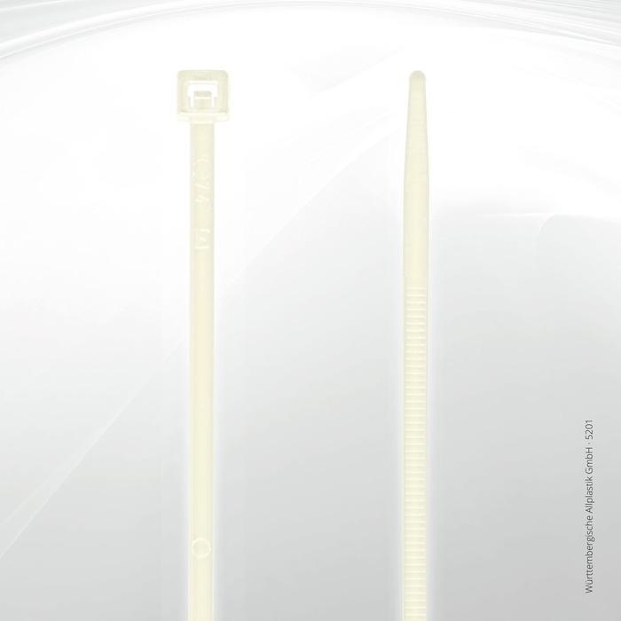 Allplastik-Kabelbinder® cable ties, standard - 5201 (natural)