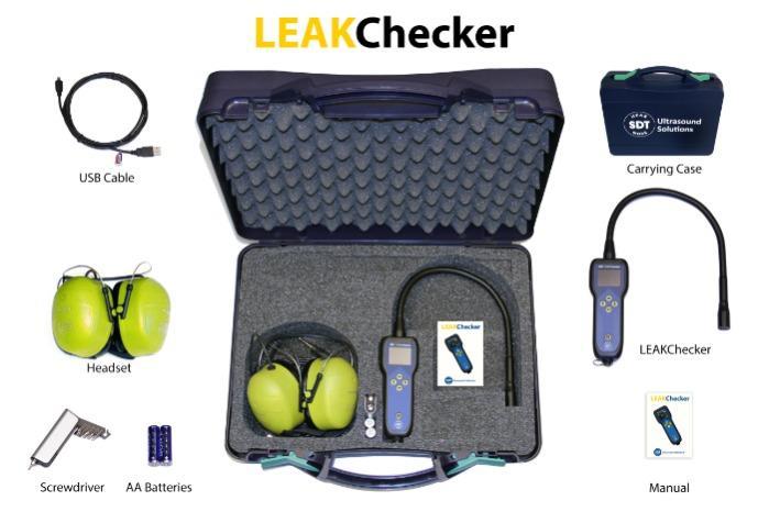 LEAKChecker - Localisez les fuites… Réduisez les dépenses.