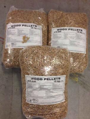 Granules de bois 6mm EN Plus A1 A2 - Pellets de bois, copeaux de bois, copeaux d'écorce, sciure de bois