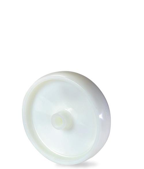 Ruota monolitica in nylon 6 - Serie pesate