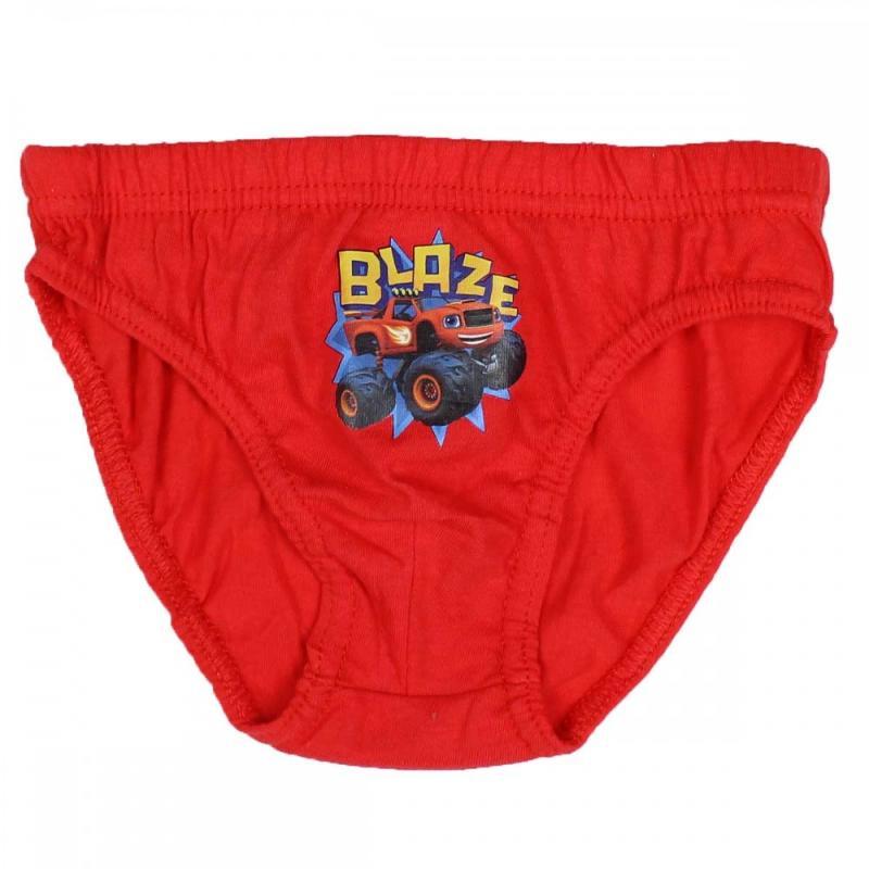 36x Lots de 3 culottes Blaze Force du 2 au 8 ans - Sous-vêtement
