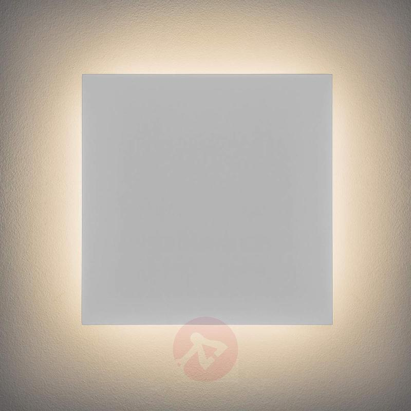 Eclipse Square 300 LED Wall Light - Wall Lights