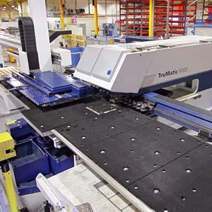 Laser/ Punch Combination - Punched forms and Laser profiling in one seamless process