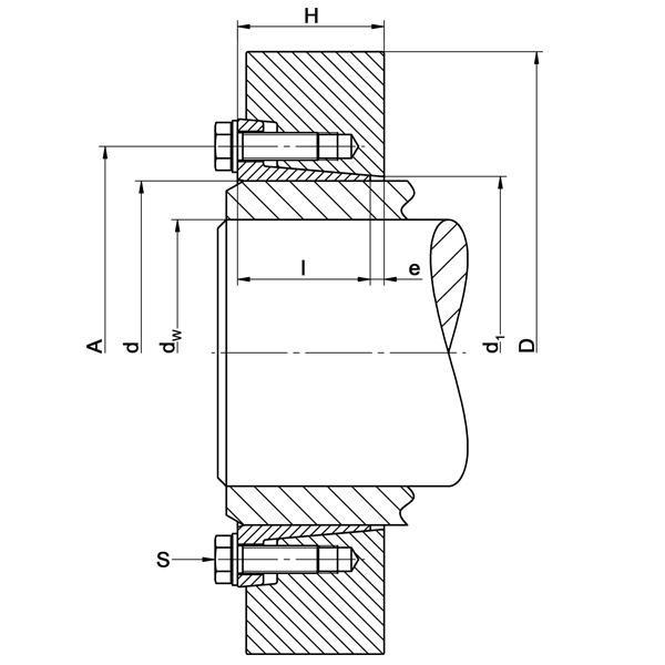 TAS-3193 Heavy-Range Strengthened - Shrink Discs 2-part