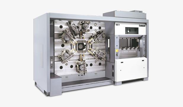 Produktionssystem - COMBITEC CC 1 - Starkes Produktionssystem COMBITEC CC 1 mit separatem 800 kN-Pressenmodul