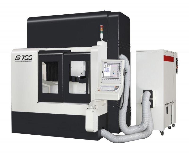3-Axis-Machining-Center - G700 - 3-Axis-machine-center for construction and forming of tools, G700, Takumi