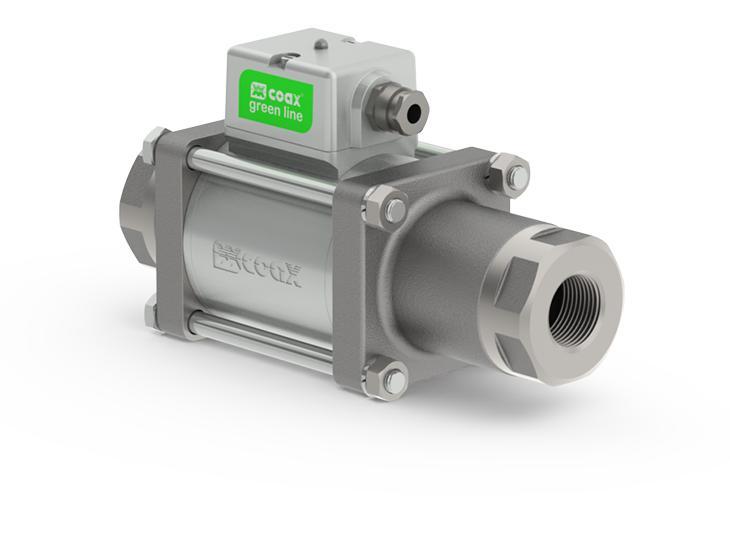 Co-ax Rmk | Rfk Solenoid Valves - 2/2 Way coaxial greenline™ valves