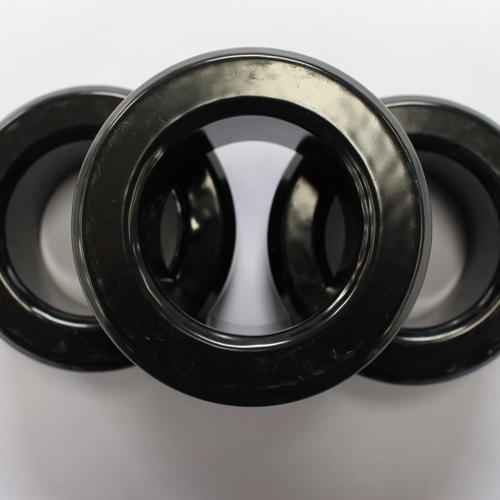 Núcleos de pulverización de polvo magnético suave HJS158060 - Negro, OD * ID * HT (40,94 * 21,17 * 17,89)