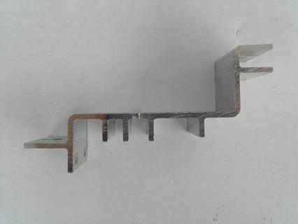 Kühlkörper - Aluminium-Strangpressteil - null