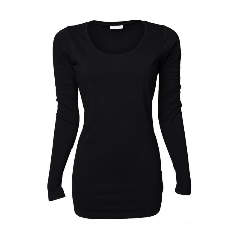 Tee-shirt femme Stretch Extra long - Manches longues