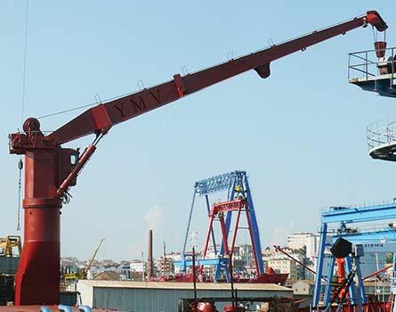 Marine Stiff Boom Crane - Marine Stiff Boom for Service and Hose Handling Opera