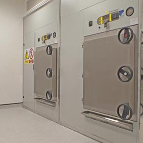 Double Door Autoclaves - 700L Pass-Through