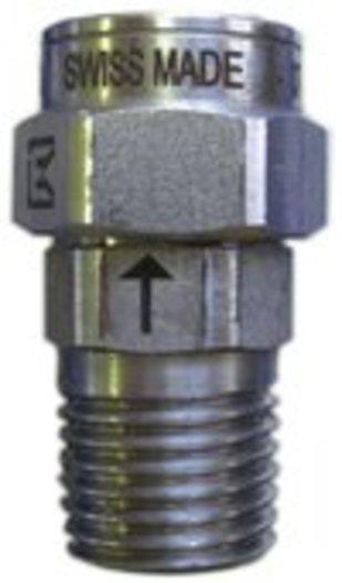 HD MINI Drehgelenke bis 500 bar, Ausführung in Edelstahl - null