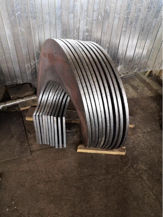 Pressa per produrre spirali di coclea  - AUGER MAX