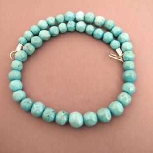 Colliers - Argent, turquoises, Iran