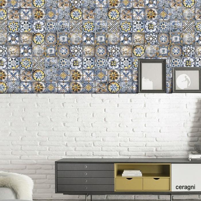 CELTA | 15x15 cm - Azulejos em Cerâmica Decorados