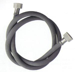 Tubo carico Lav. in gomma grigia diritto - Tubi carico e scarico lavastoviglie e lavatrice