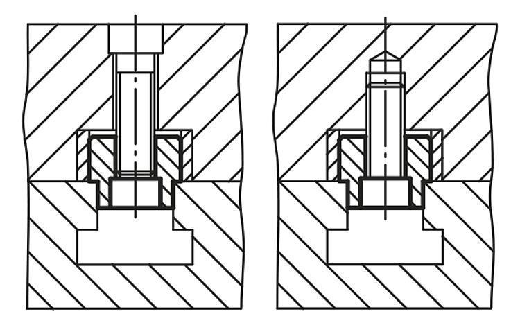 Lardon cylindrique - Cales parallèles, lardons goupilles cylindriques