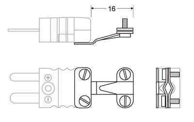 Wire Clamp Bracket - Accessories Miniature