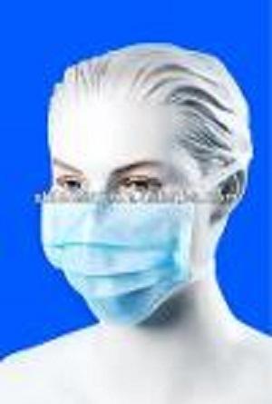 Mascarilla de lazo desechable de 3 capas inCE, estándar ISO1 - Mascarilla no tejida