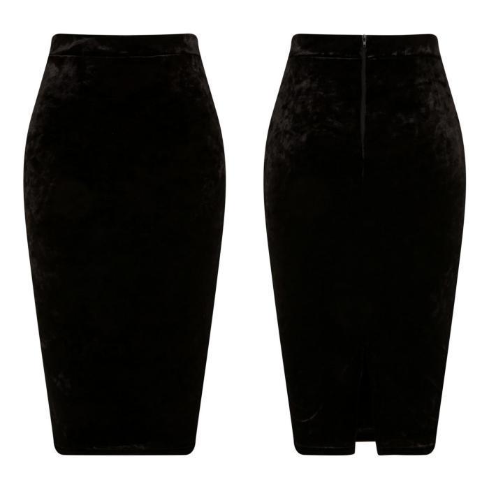 Black Velvet Skirt  - Manufacturer & Exporter | Low MOQs