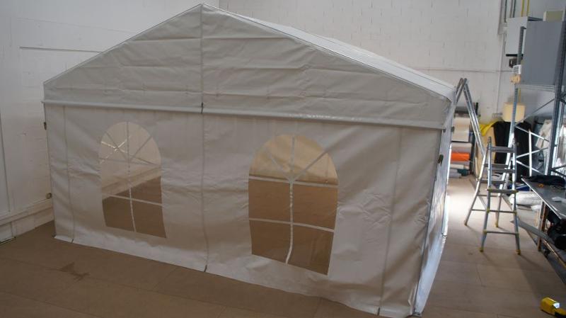 Tente Alu Modula - Tentes de Réceptions en acier et en Aluminium pour fêtes