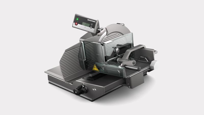 Manual vertical slicer with portion scale VSC280 W - Slicers