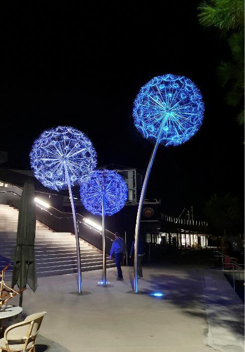 Dandelions (Pusteblume) - Nizza, Frankreich -