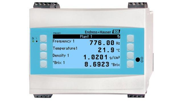 mesure detection niveau - mesure vibronique calculateur densite FML621